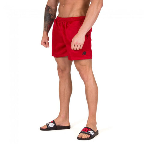 Miami Shorts - Red - Gorilla Wear SA Gorilla Wear SA - Gorilla Wear South Africa