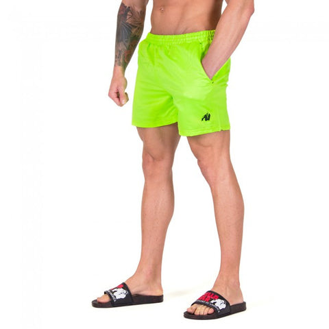 Miami Shorts - Neon Lime - Gorilla Wear SA Gorilla Wear SA - Gorilla Wear South Africa