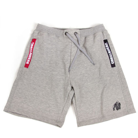 Pittsburgh Sweat Shorts - Grey - Gorilla Wear SA Gorilla Wear SA - Gorilla Wear South Africa