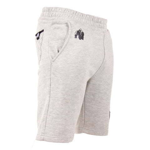 Los Angeles Sweat Shorts - Gray - Gorilla Wear South Africa