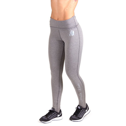 Annapolis Work Out Legging - Grey - Gorilla Wear South Africa