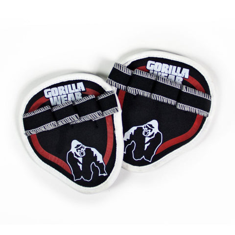 Palm Grip Pads - Black/Red - Gorilla Wear SA Gorilla Wear SA - Gorilla Wear South Africa