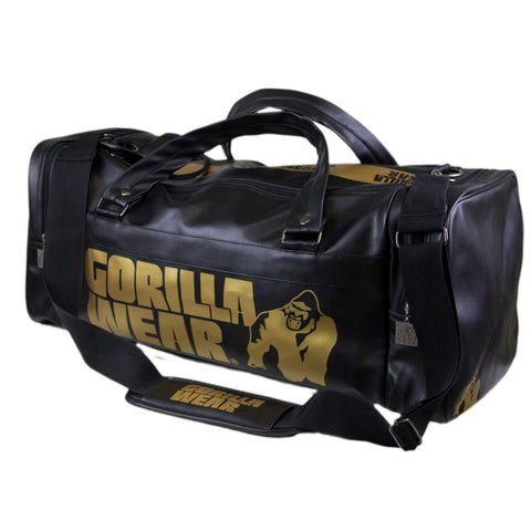 Gym Bag - Black and Gold - 2.0 - Gorilla Wear South Africa