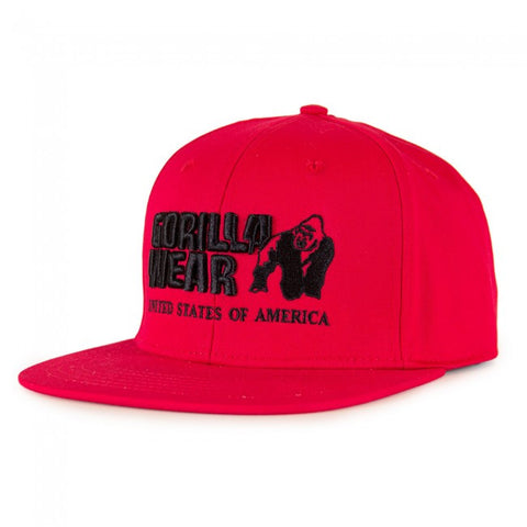 Dothan Cap - Red - Gorilla Wear SA Gorilla Wear SA - Gorilla Wear South Africa
