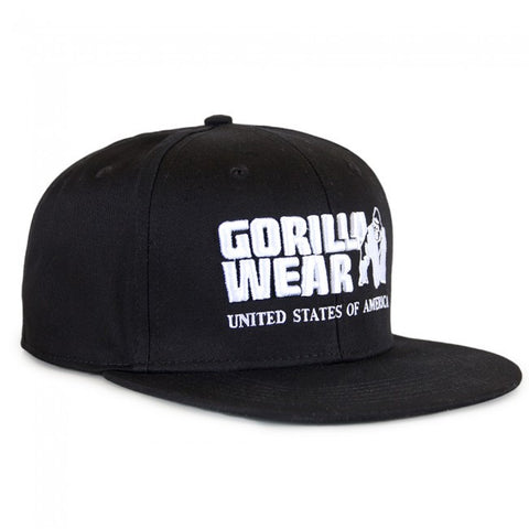 Dothan Cap - Black - Gorilla Wear SA Gorilla Wear SA - Gorilla Wear South Africa