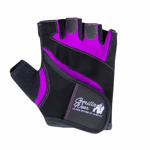 Women's Fitness Gloves - Black and Purple - Gorilla Wear SA Gorilla Wear SA - Gorilla Wear South Africa