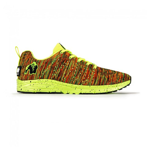 Brooklyn Knitted Sneakers - Neon Mix - Gorilla Wear South Africa