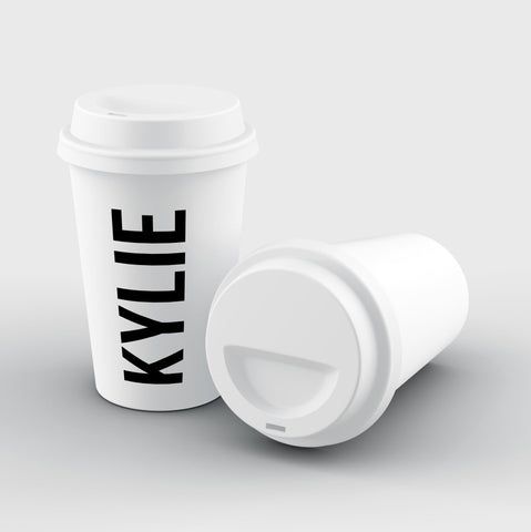 Personalised Name Reusable Coffee Cup