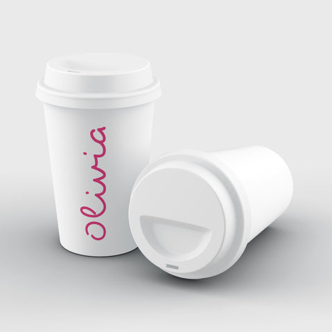 Personalised Love Text Reusable Coffee Cup
