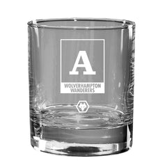 Wolves Monogram Old Fashioned Whisky Tumbler