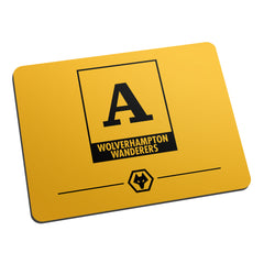 Wolves Monogram Mouse Mat