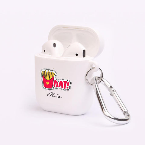 Personalised Chips AirPod Case
