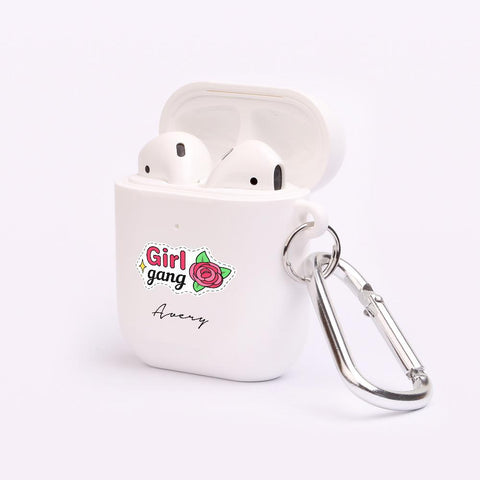 Personalised Girl Gang AirPod Case