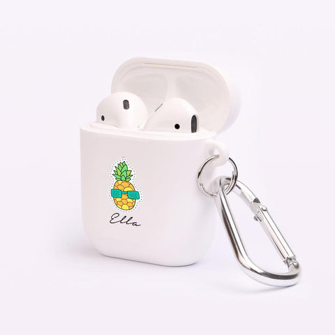 Personalised Pineapple AirPod Case
