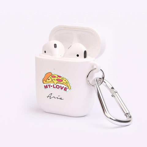 Personalised Pizza AirPod Case
