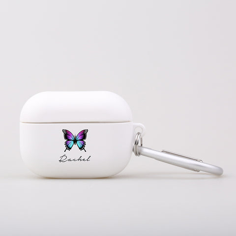 Personalised Butterfly Name AirPod Pro Case