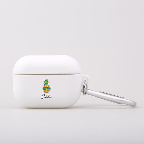 Personalised Pineapple AirPod Pro Case