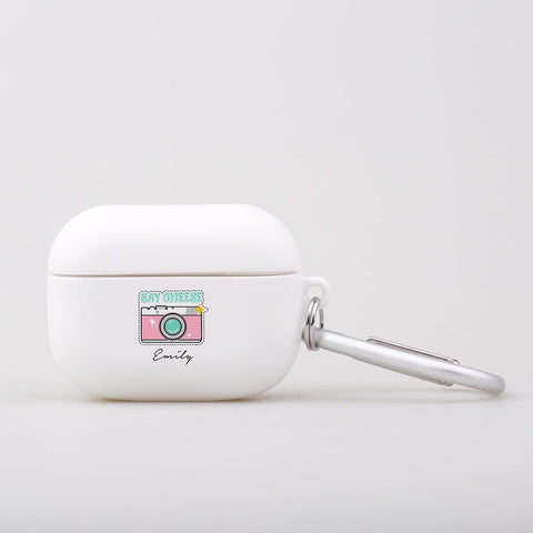 Personalised Say Cheese AirPod Pro Case