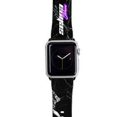 Personalised Neon Side Name Apple Watch Strap