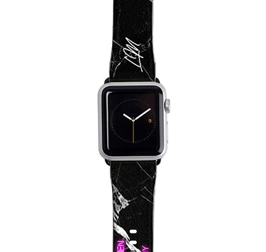 Personalised Well Behaved Women Apple Watch Strap