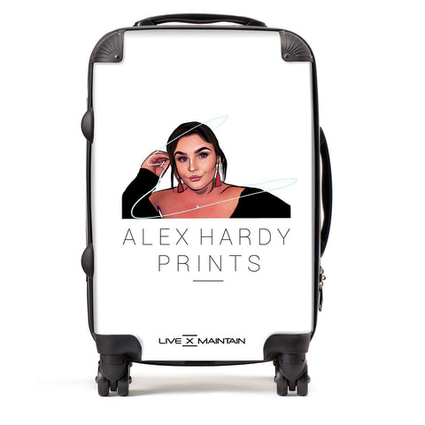 Digital Drawing Alex Hardy Prints Suitcase