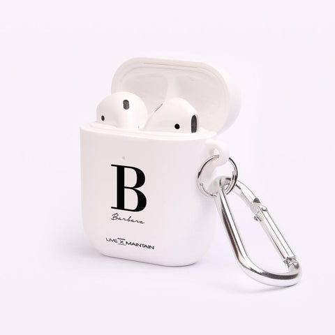 Personalised Name Initial AirPod Case