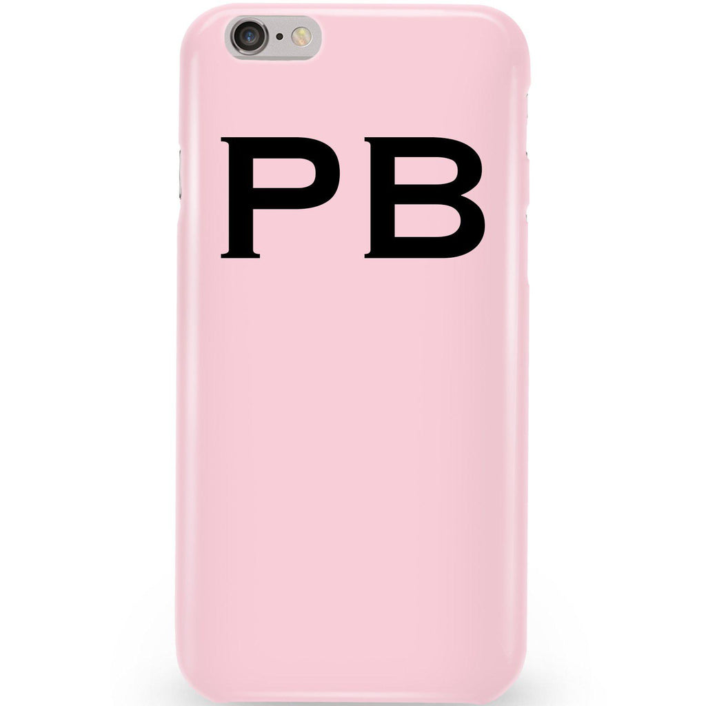 Personalised Bloom Top Initials iPhone 6/6s Case
