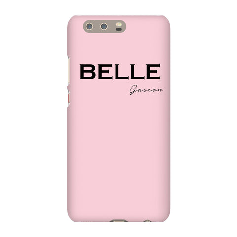 Personalised Bloom Name Huawei P10 Plus Case