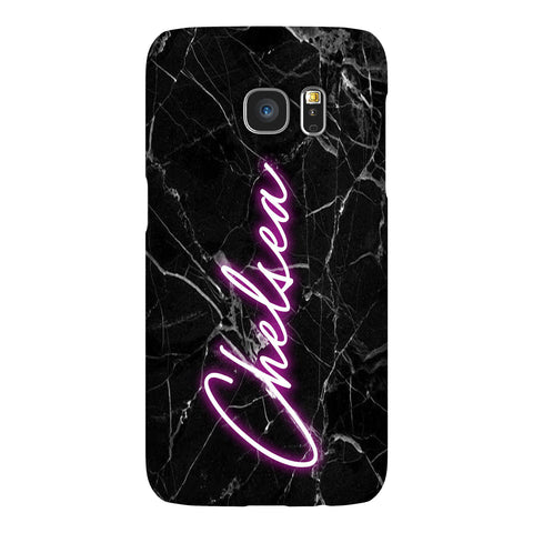 Personalised Neon Name Samsung Galaxy S7 Edge Case