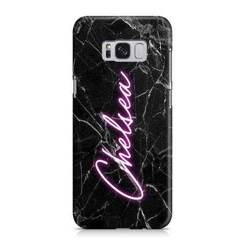 Personalised Neon Name Samsung Galaxy S8 Case