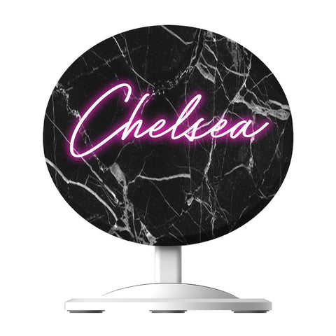 Personalise Neon Name Wireless Charger