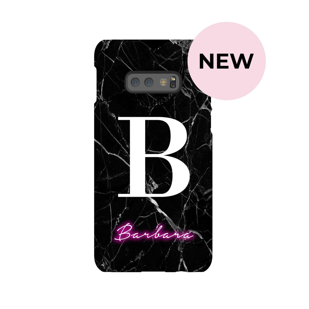 Personalised Neon Name Samsung Galaxy S10e Case
