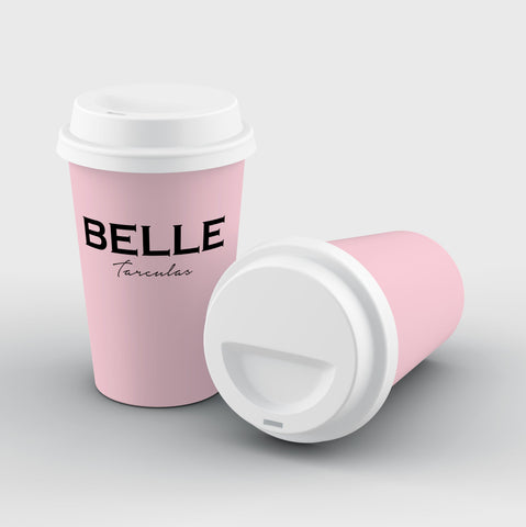 Personalised Bloom Name Reusable Coffee Cup