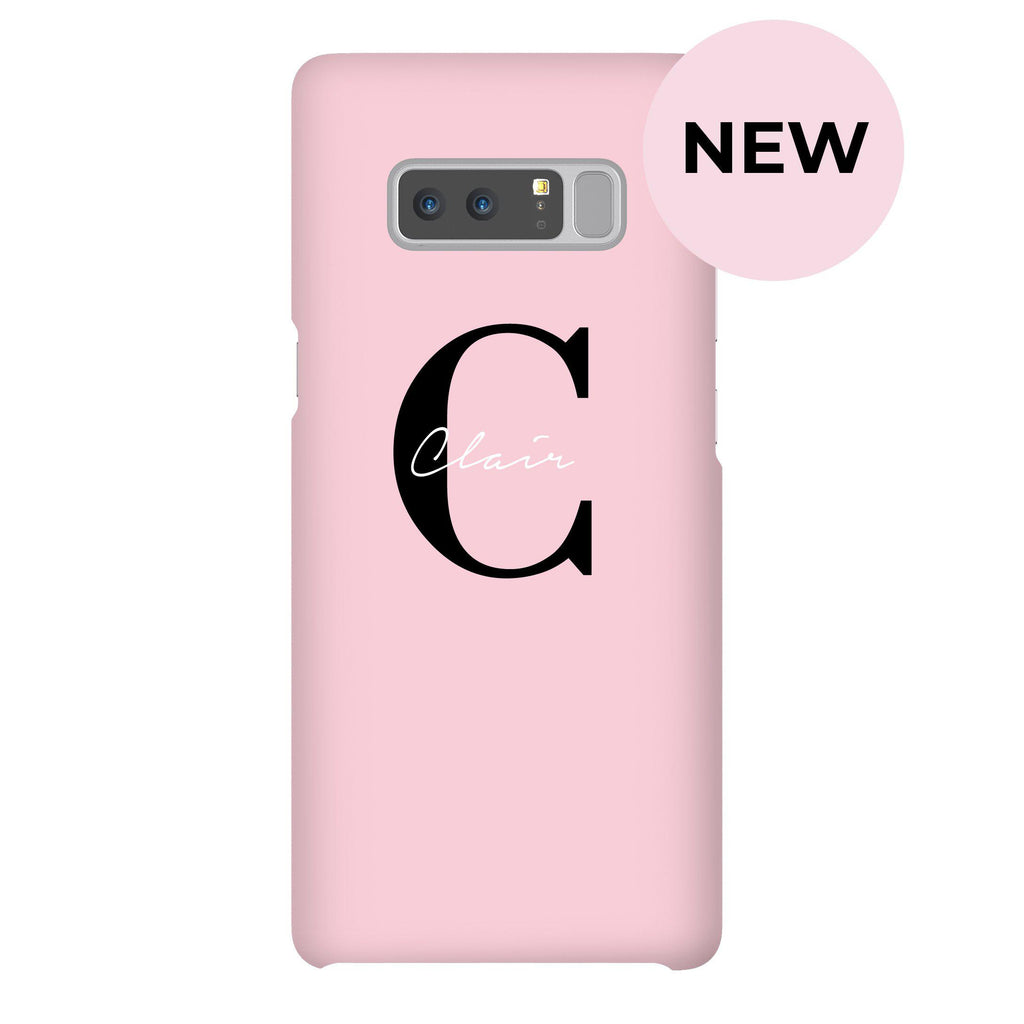 Personalised Bloom Name Samsung Galaxy Note 8 Case