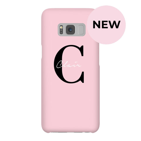 Personalised Bloom Name Samsung Galaxy S8 Case