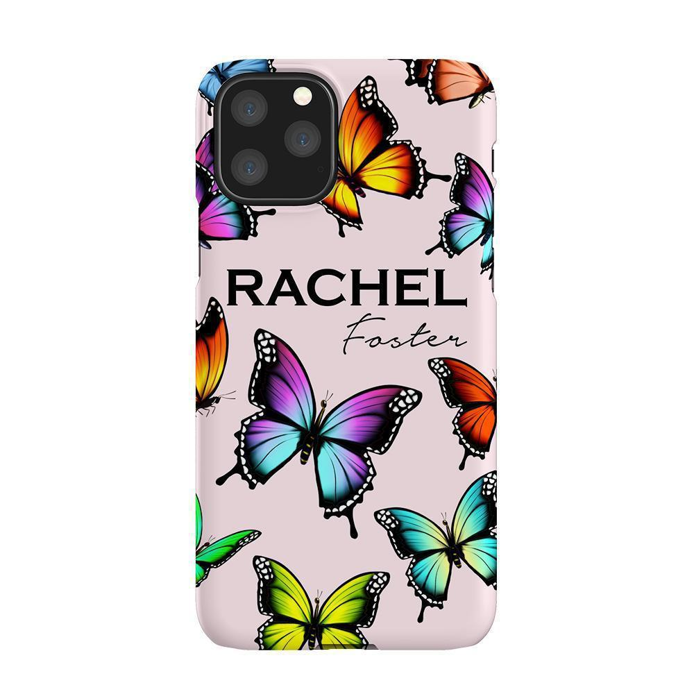 Personalised Butterfly Name iPhone 11 Pro Max Case