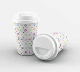 Personalised Monogram Reusable Coffee Cup