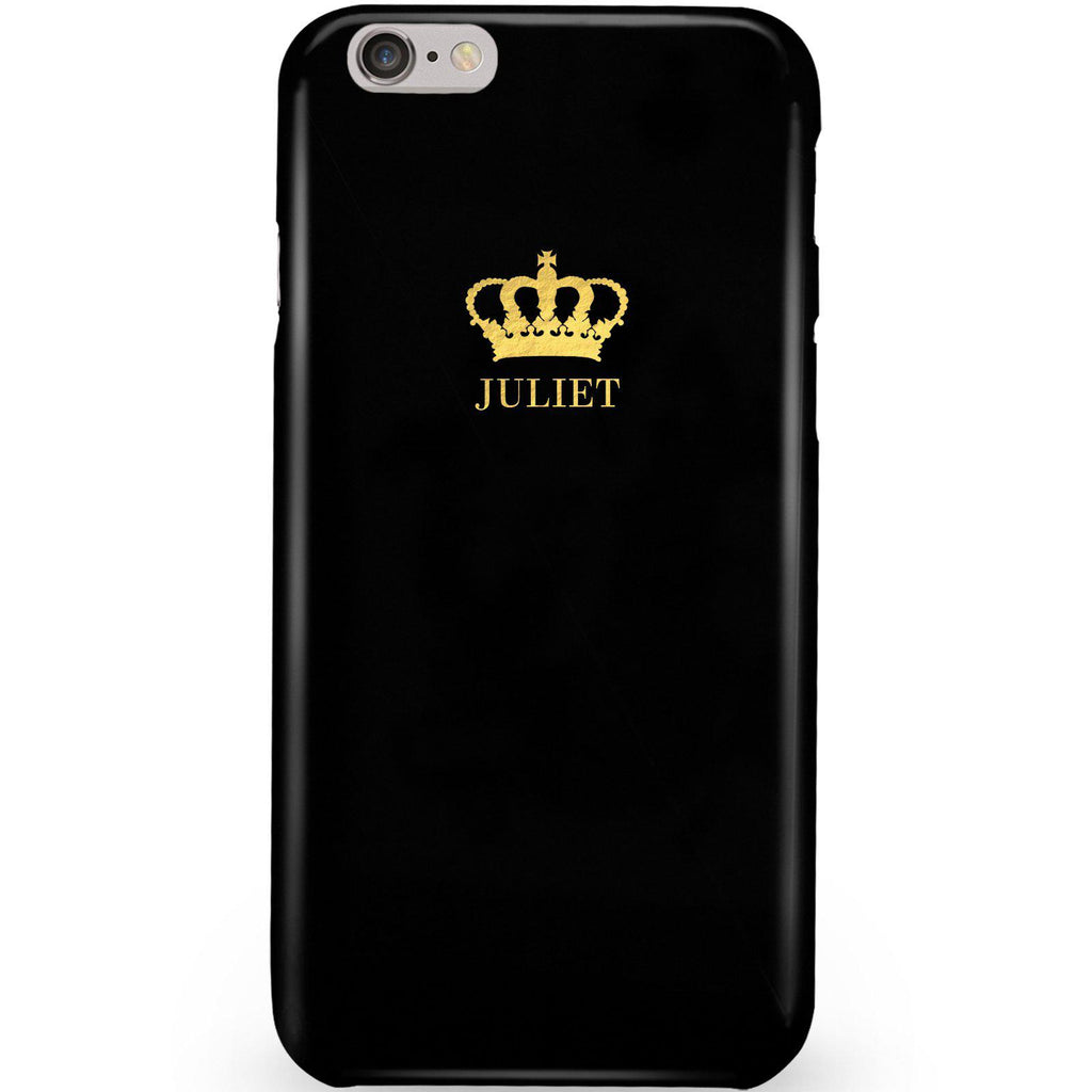 Personalised Name Crown iPhone 6/6s Case