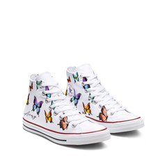 Custom Butterfly Converse Chuck Taylor All Star High Top