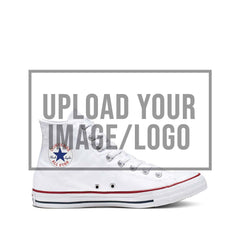 Custom Upload Your Image / Logo Converse Chuck Taylor All Star High Top