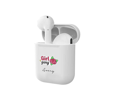 Personalised Girl Gang Smart Earbuds