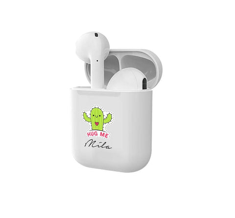 Personalised Hug Me Smart Earbuds