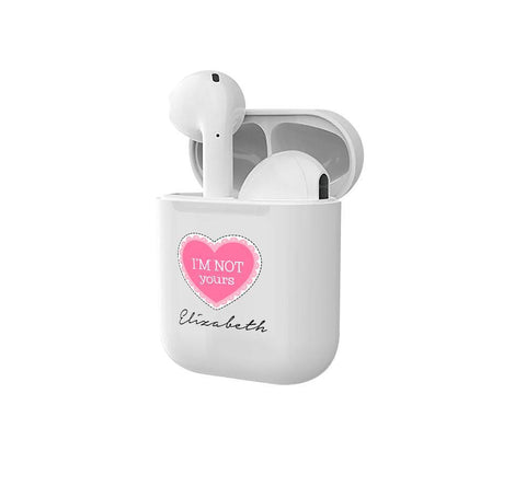 Personalised I'm Not Yours Smart Earbuds