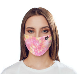 Personalised Tie Dye Name Reusable Face Mask