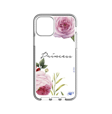 Personalised Floral Blossom iPhone 11 Pro Clear Case