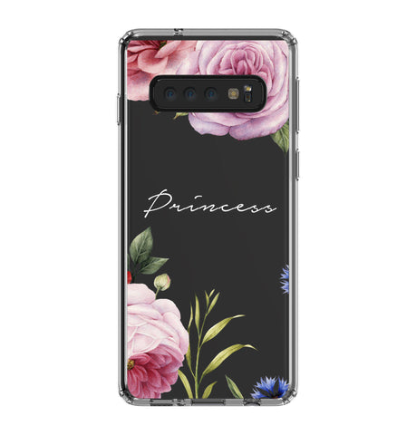 Personalised Floral Blossom Samsung Galaxy S10 Clear Case