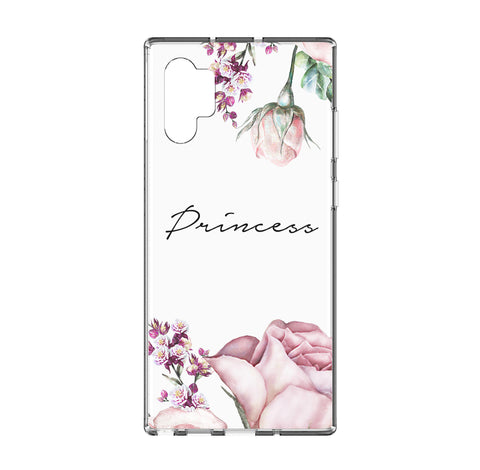 Personalised Rose Samsung Galaxy Note 10 Plus Clear Case