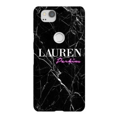 Personalised Neon Name Google Pixel 2 Case