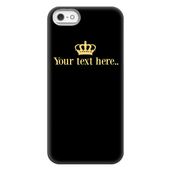 Personalised Name Crown iPhone 5/5s/SE (2016) Case