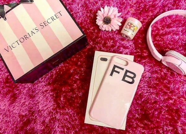 Personalised Bloom Top Initials Phone Case